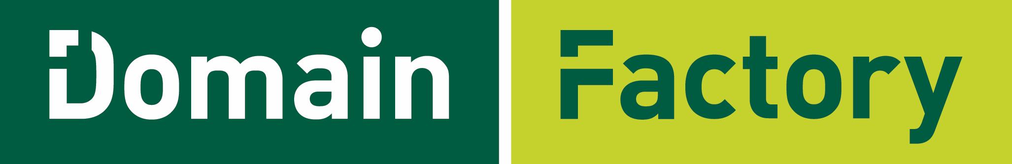 Abbildung des Domain Factory Logos.