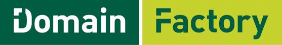 Abbildung des Domainfactory Logos.